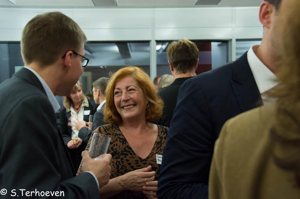 Networking auf der 1. Social Media Nacht in der EMBA